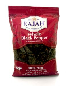 Black Peppercorns by Rajah (Whole) | Buy Online at the Asian Cookshop
